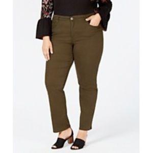 Style & Co Tummy Control Straight-Leg Jeans NWT